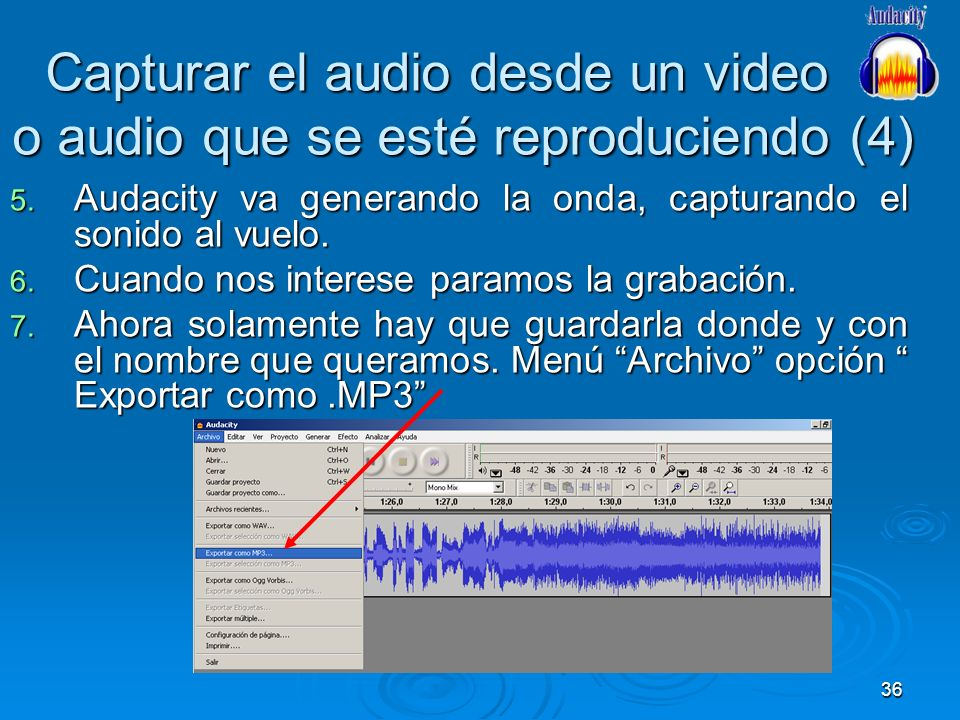 Capturar el audio desde un video o audio que se esté reproduciendo (4)