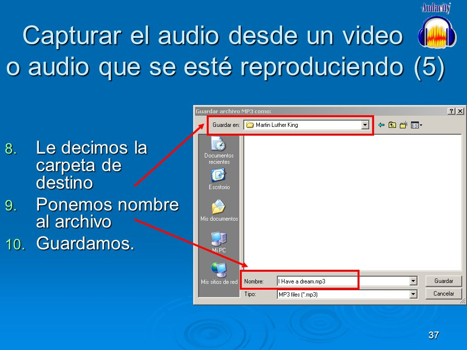 Capturar el audio desde un video o audio que se esté reproduciendo (5)
