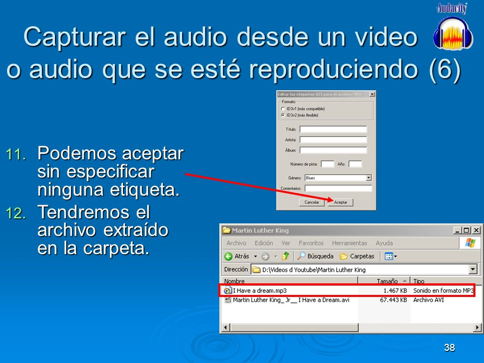 Capturar el audio desde un video o audio que se esté reproduciendo (6)