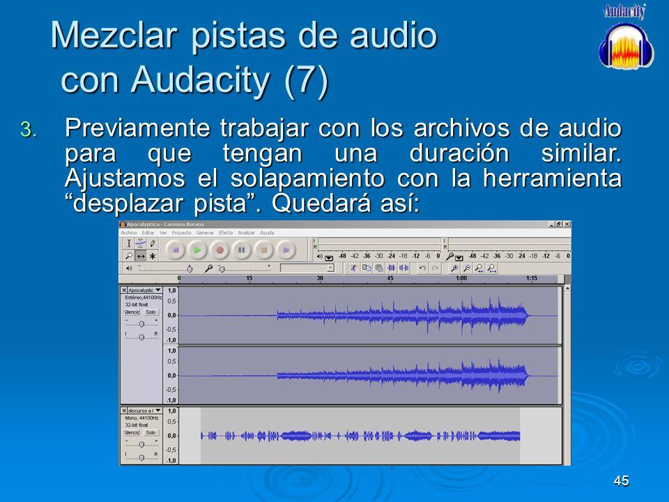 Mezclar pistas de audio con Audacity (7)