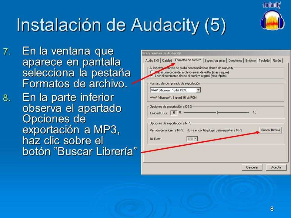 Instalación de Audacity (5)