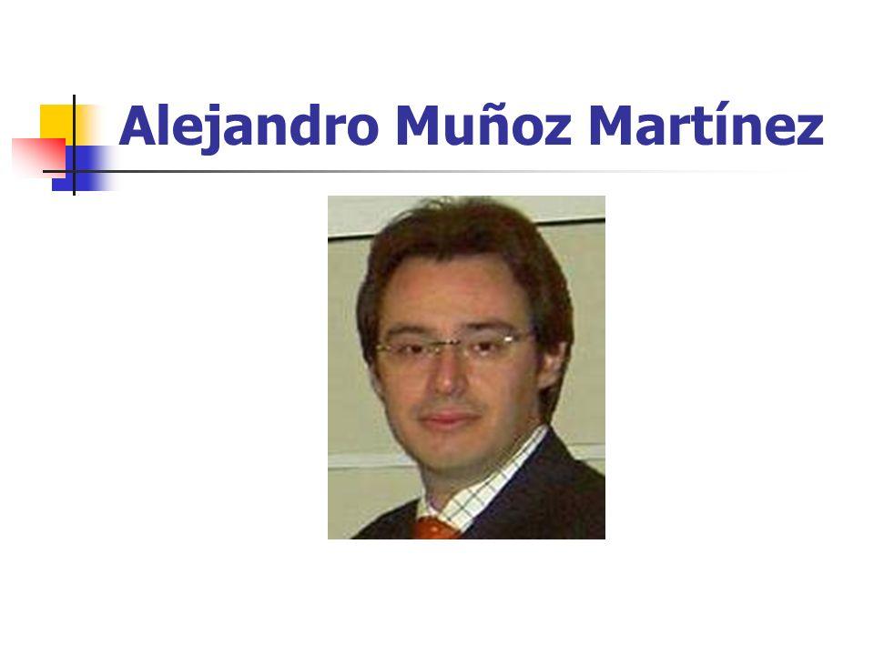 Alejandro Muñoz Martínez