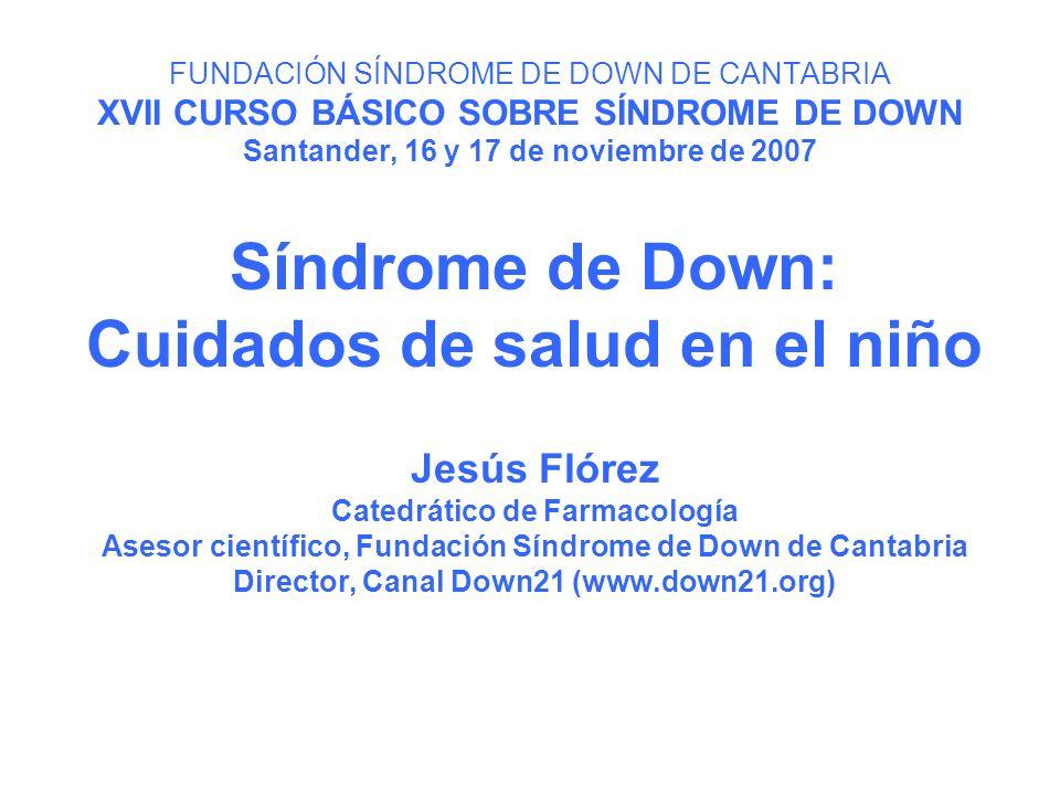 Síndrome de Down: Cuidados de salud en el niño