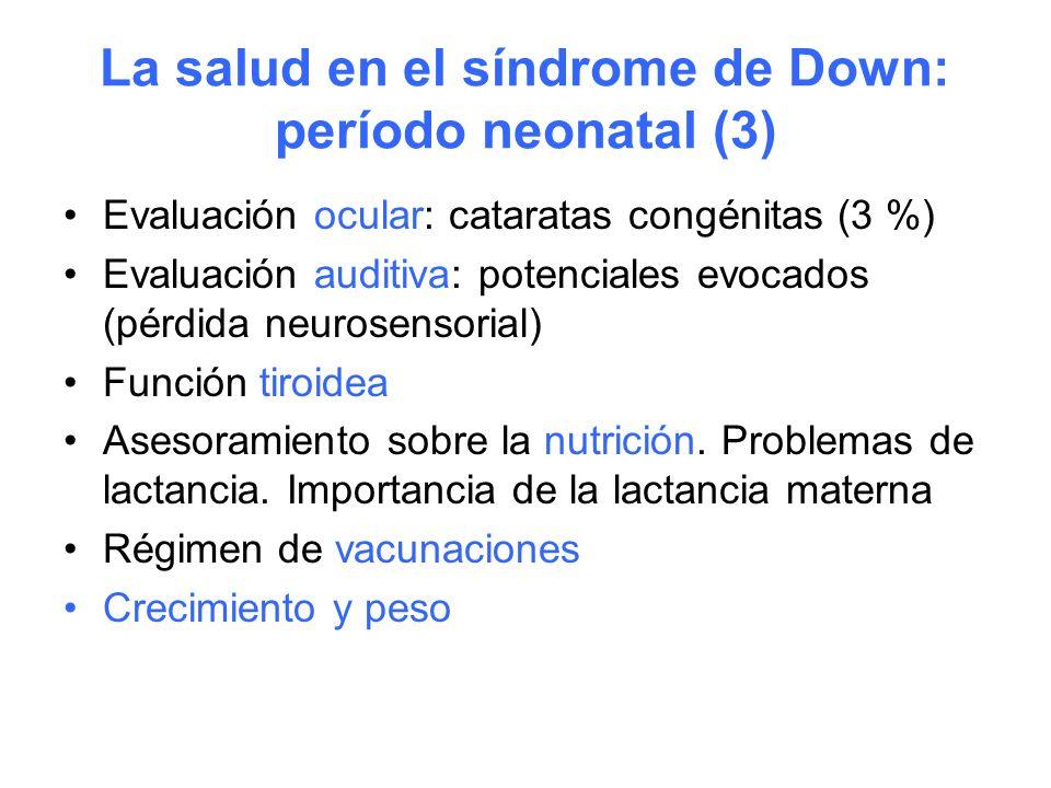 La salud en el síndrome de Down: período neonatal (3)