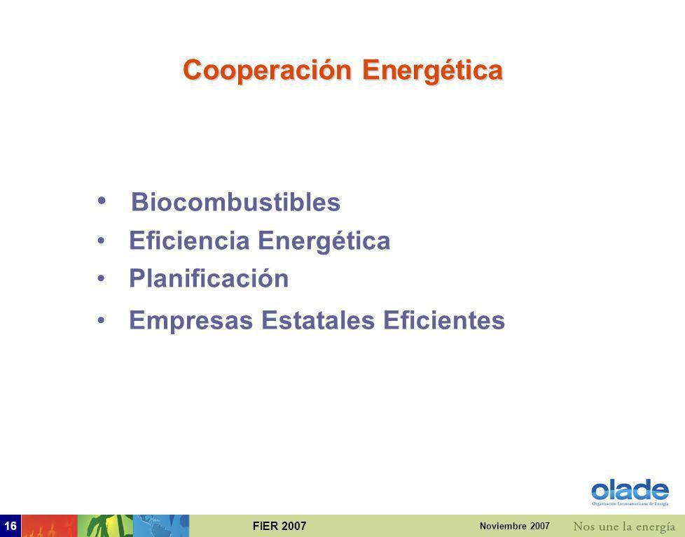 Cooperación Energética