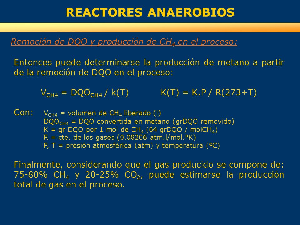 VCH4 = DQOCH4 / k(T) K(T) = K.P / R(273+T)