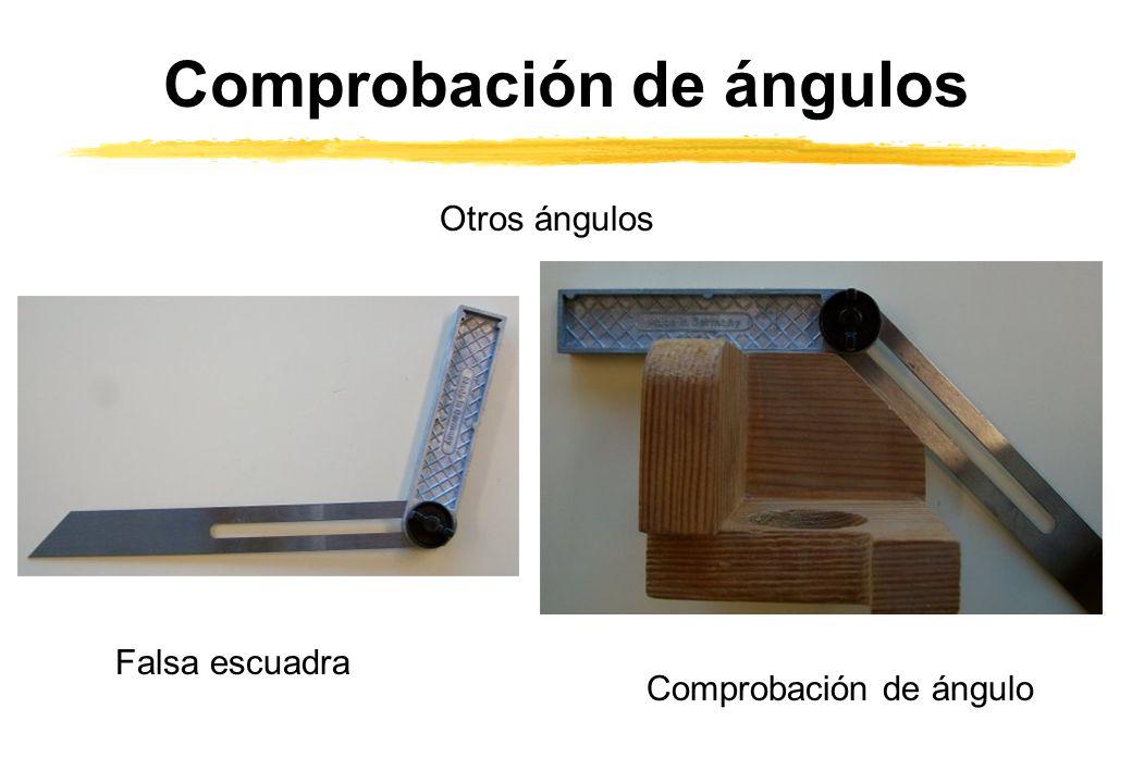 Comprobación de ángulos