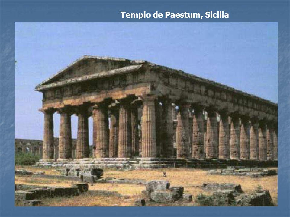 Templo de Paestum, Sicilia