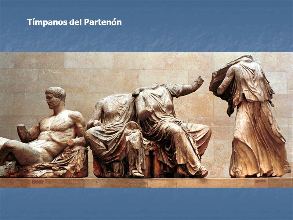 Tímpanos del Partenón