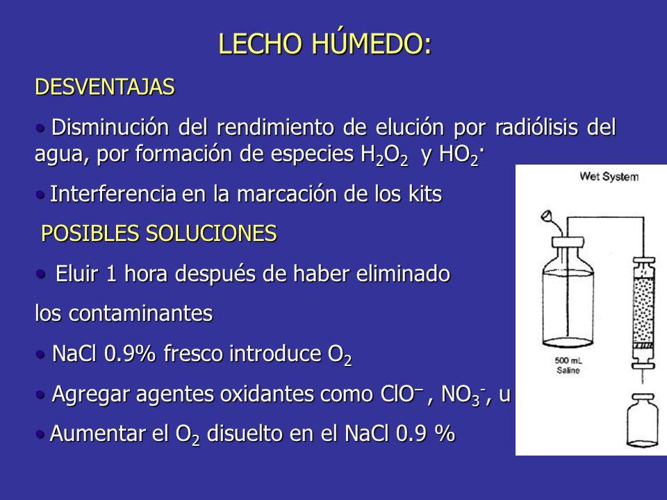 POSIBLES SOLUCIONES LECHO HÚMEDO: