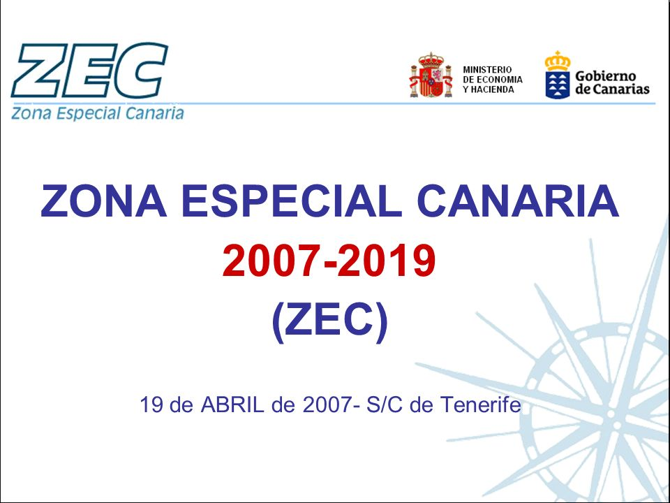 19 de ABRIL de 2007- S/C de Tenerife