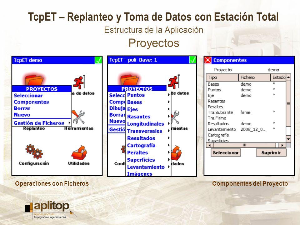 Estructura de la Aplicación Proyectos