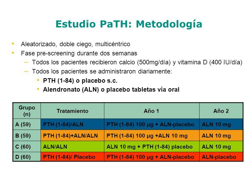 Estudio PaTH: Metodología