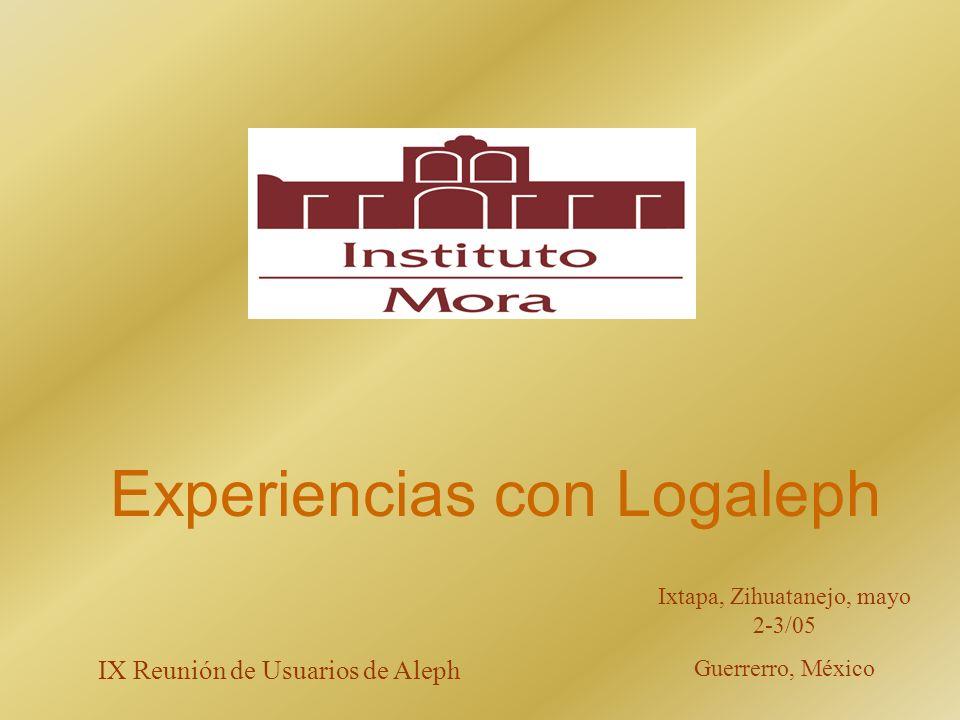 Experiencias con Logaleph