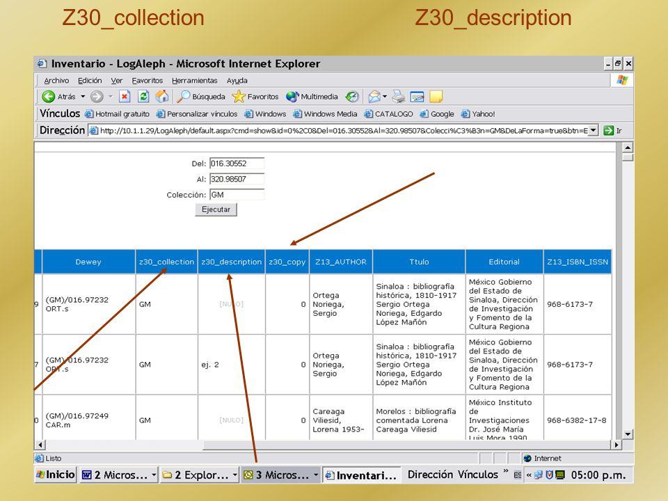 Z30_collection Z30_description