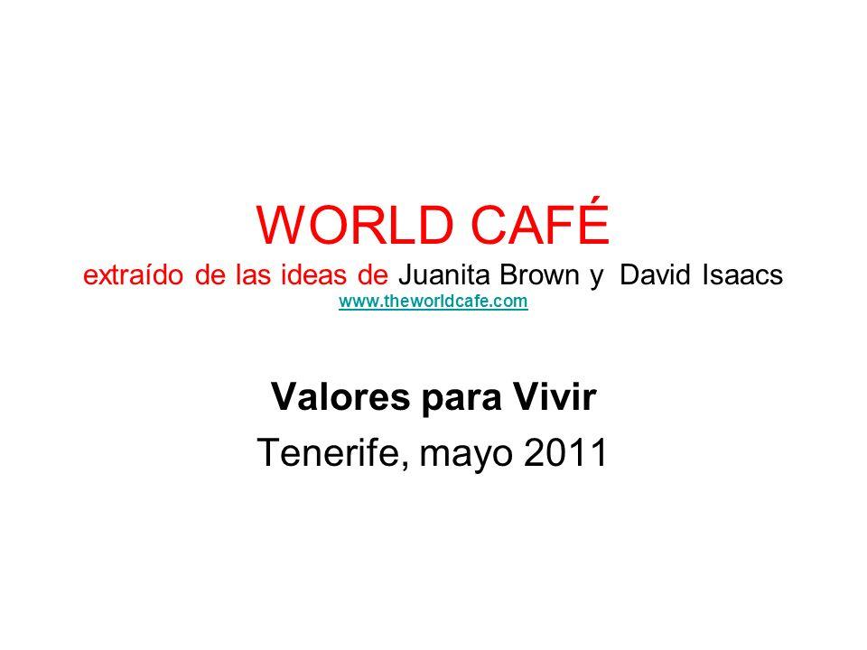 Valores para Vivir Tenerife, mayo 2011