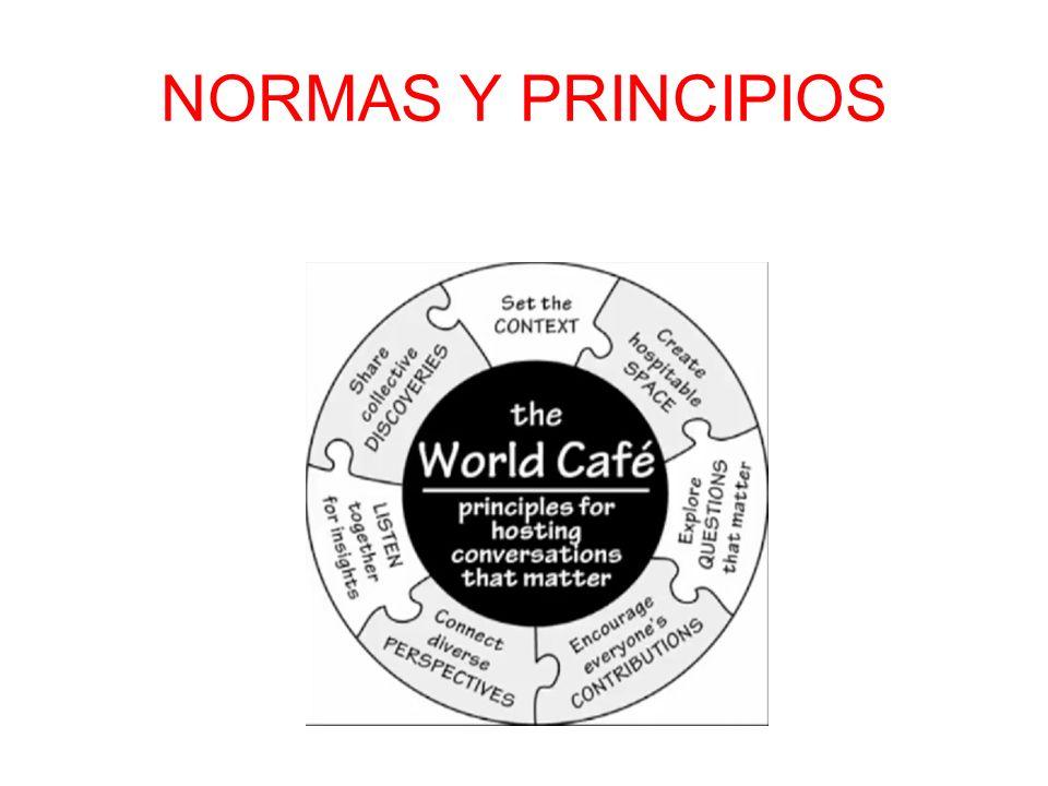 NORMAS Y PRINCIPIOS