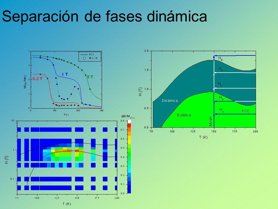 Separación de fases dinámica