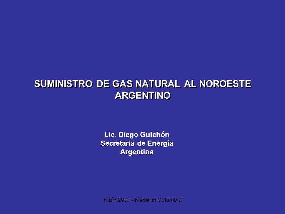 SUMINISTRO DE GAS NATURAL AL NOROESTE ARGENTINO