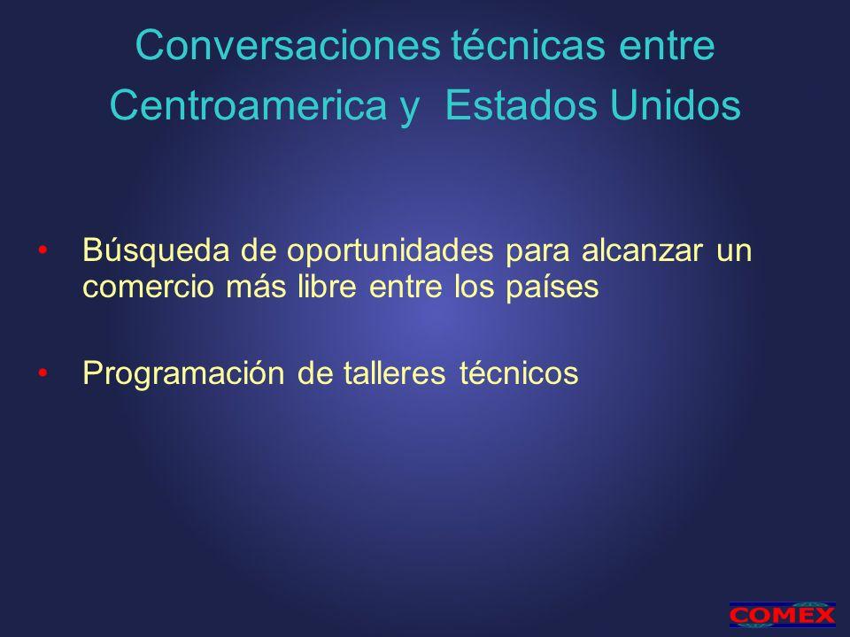 Conversaciones técnicas entre Centroamerica y Estados Unidos