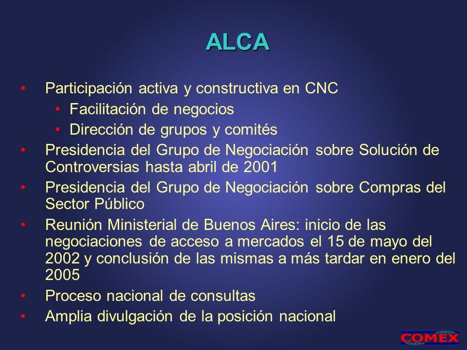 ALCA Participación activa y constructiva en CNC