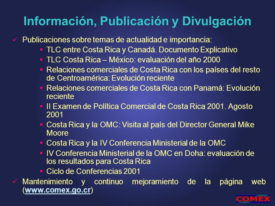 Información, Publicación y Divulgación