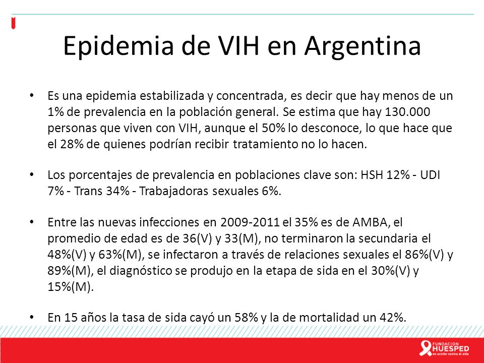 Epidemia de VIH en Argentina