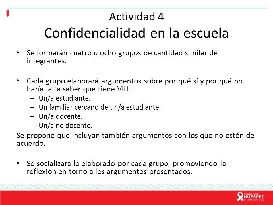 Actividad 4 Confidencialidad en la escuela