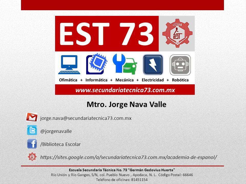 Escuela Secundaria Técnica No. 73 Germán Gedovius Huerta