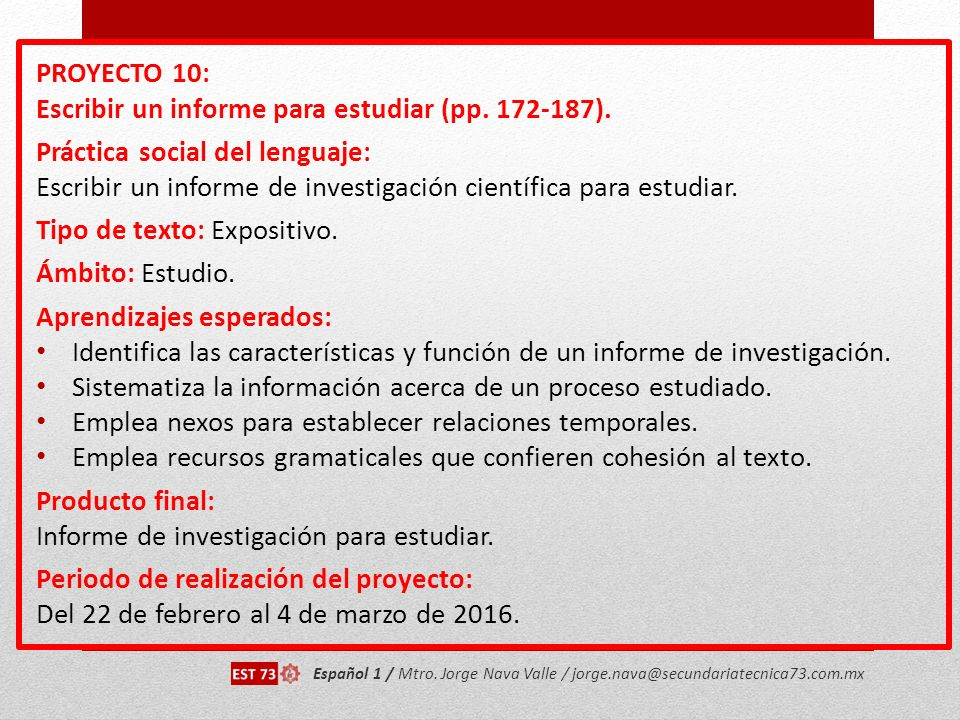 Escribir un informe para estudiar (pp. 172-187).