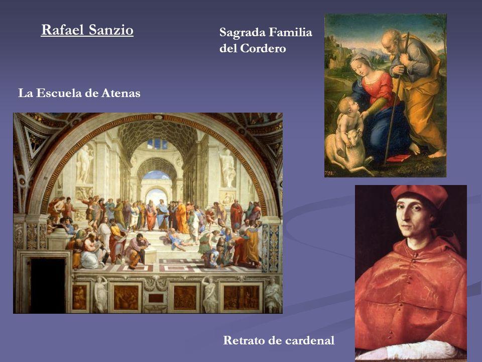 Rafael Sanzio Sagrada Familia del Cordero La Escuela de Atenas