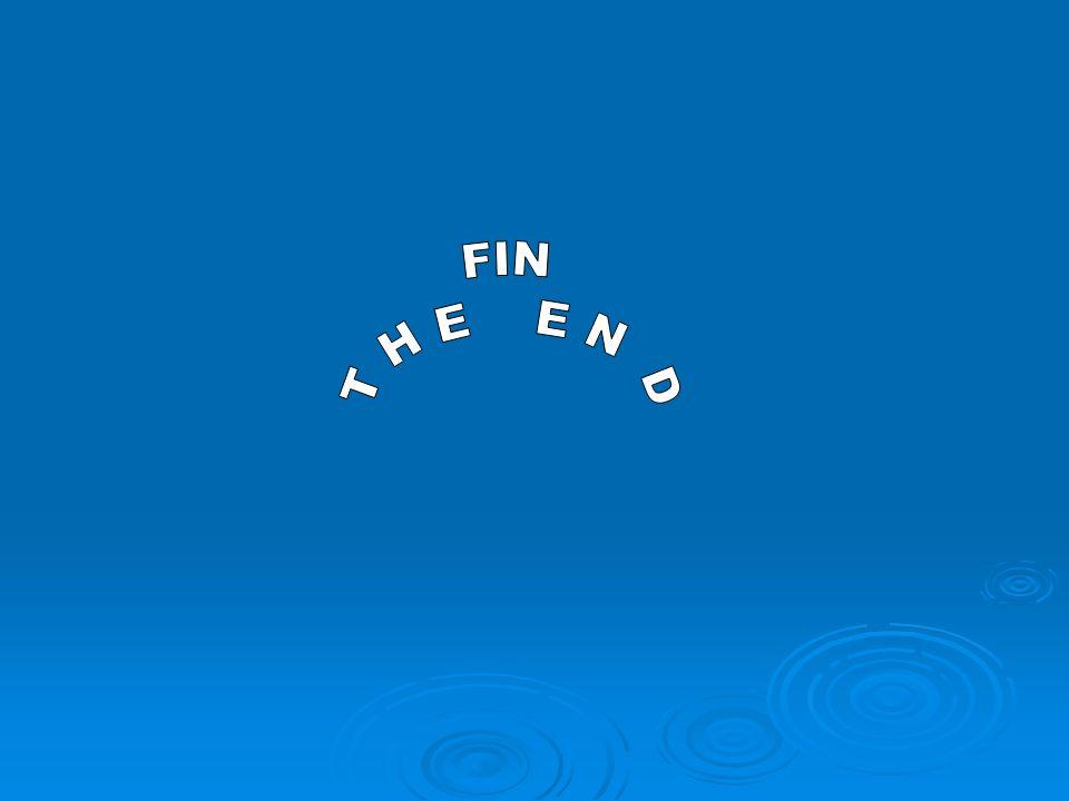 FIN T H E E N D