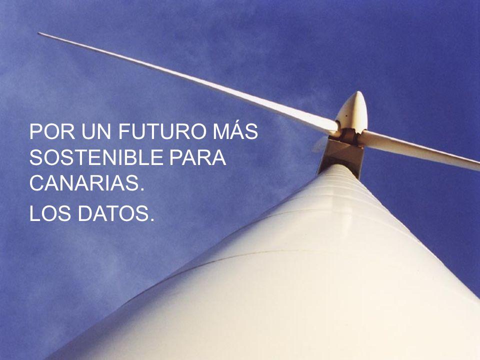 POR UN FUTURO MÁS SOSTENIBLE PARA CANARIAS.