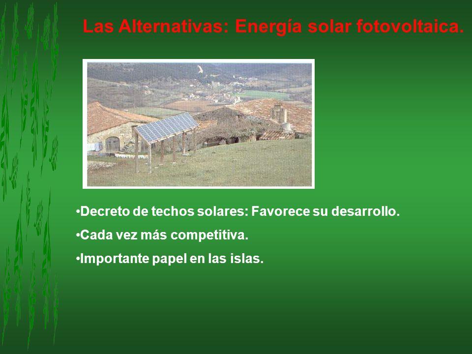 Las Alternativas: Energía solar fotovoltaica.