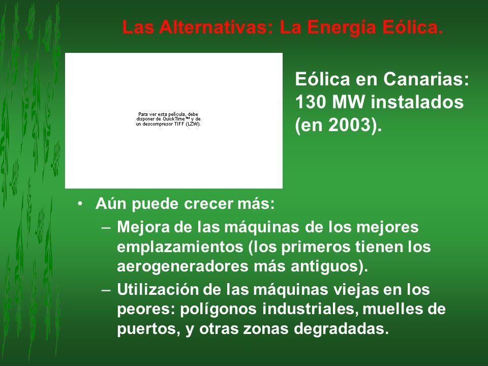 Las Alternativas: La Energía Eólica.