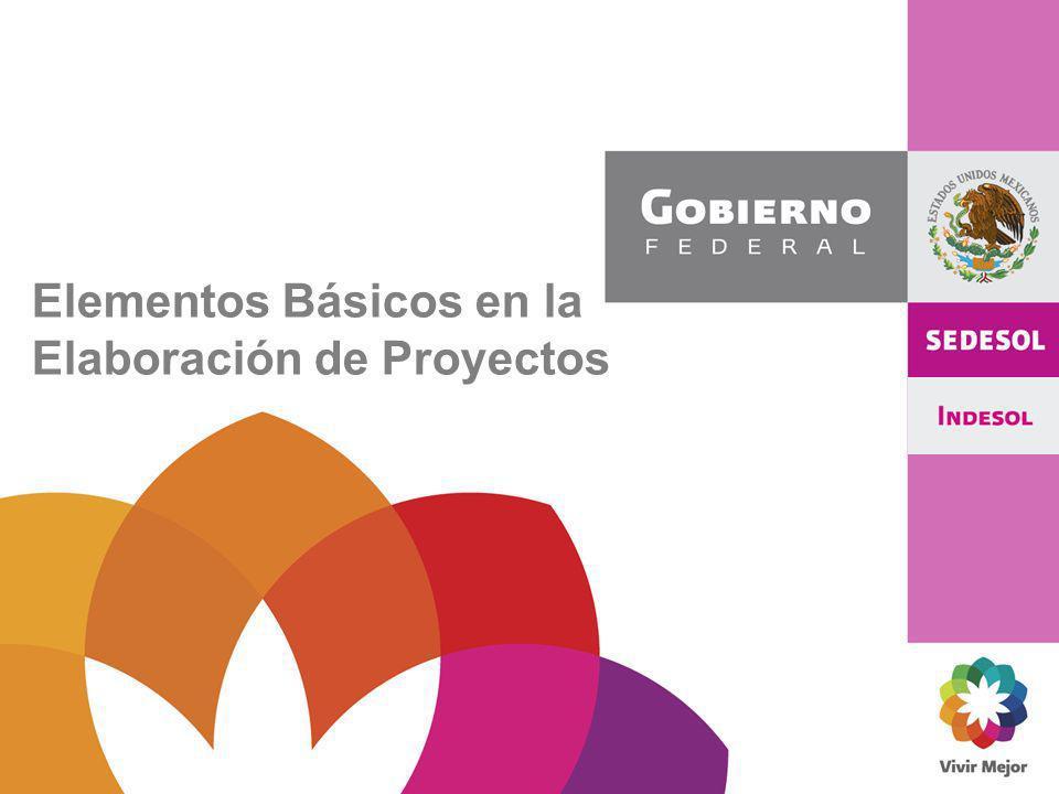 Elementos Básicos en la Elaboración de Proyectos