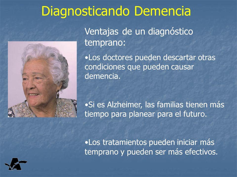 Diagnosticando Demencia