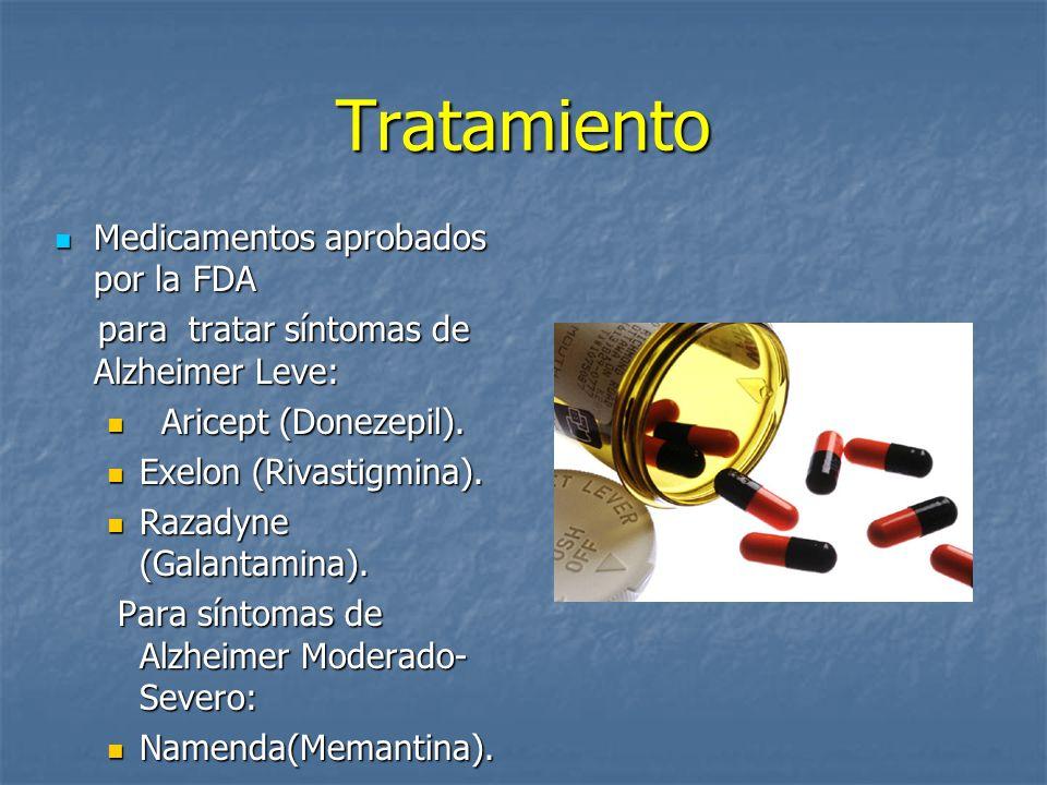 Tratamiento Medicamentos aprobados por la FDA