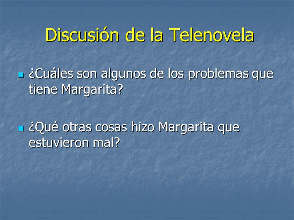 Discusión de la Telenovela