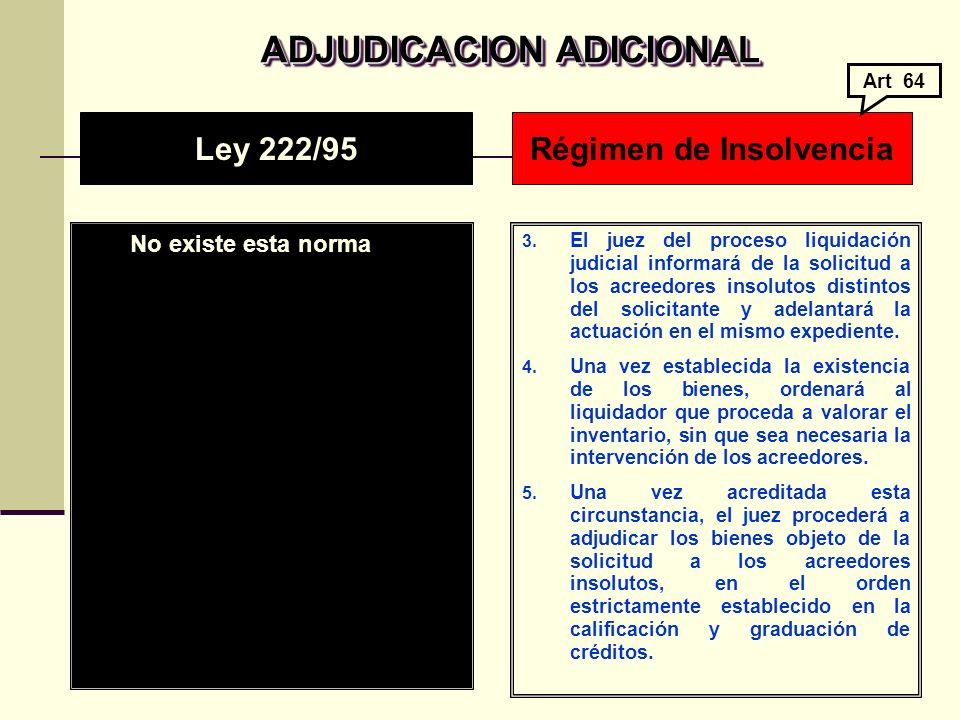 Régimen de Insolvencia