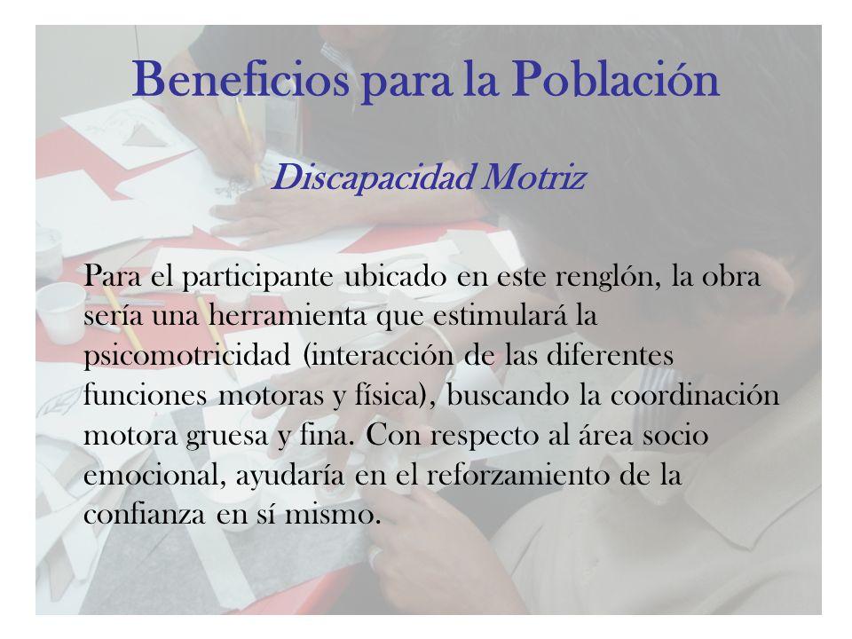 Beneficios para la Población