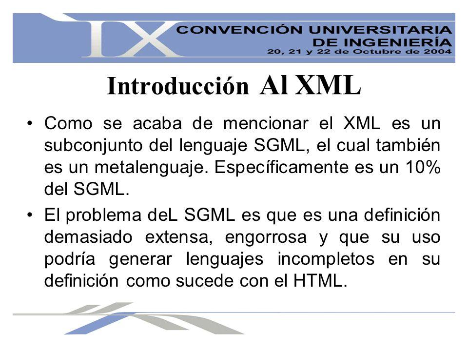 Introducción Al XML