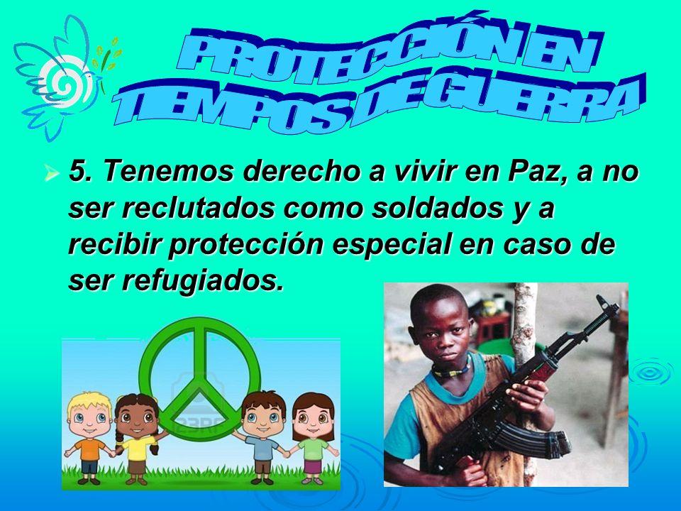 PROTECCIÓN EN TIEMPOS DE GUERRA