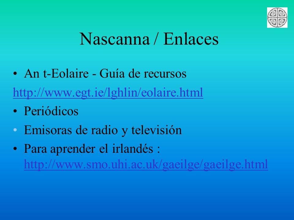 Nascanna / Enlaces An t-Eolaire - Guía de recursos