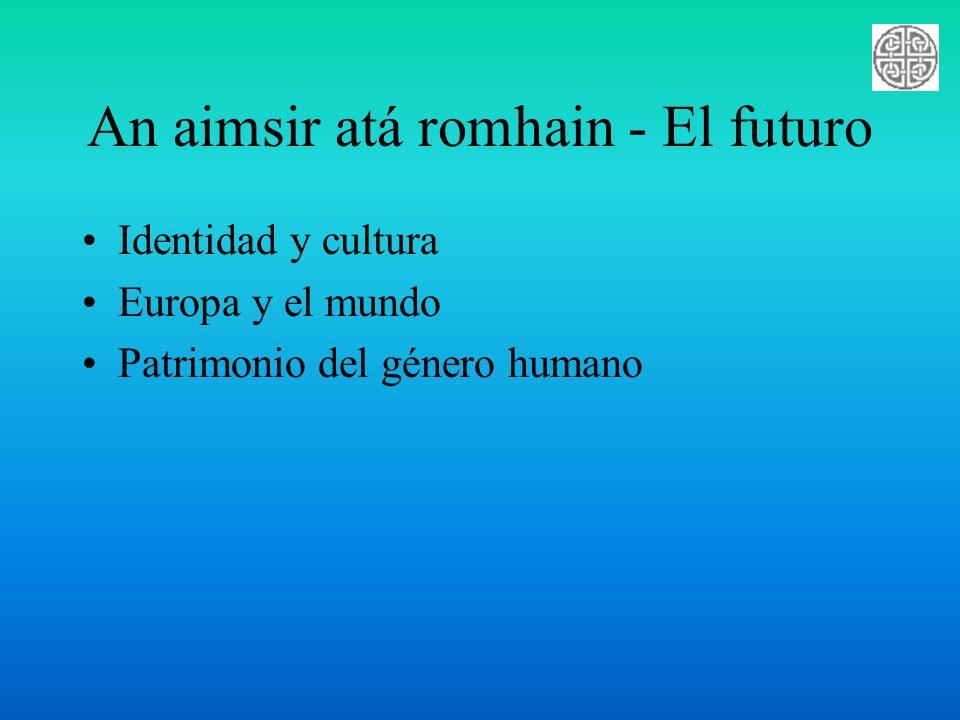 An aimsir atá romhain - El futuro