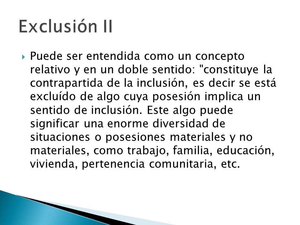 Exclusión II