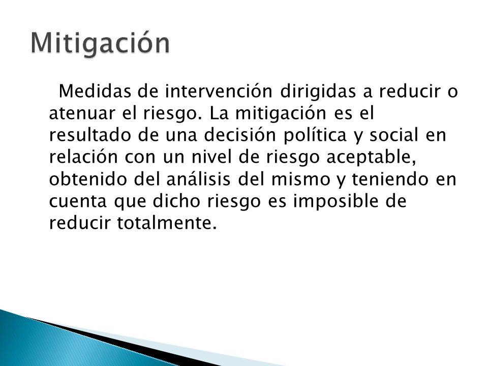 Mitigación