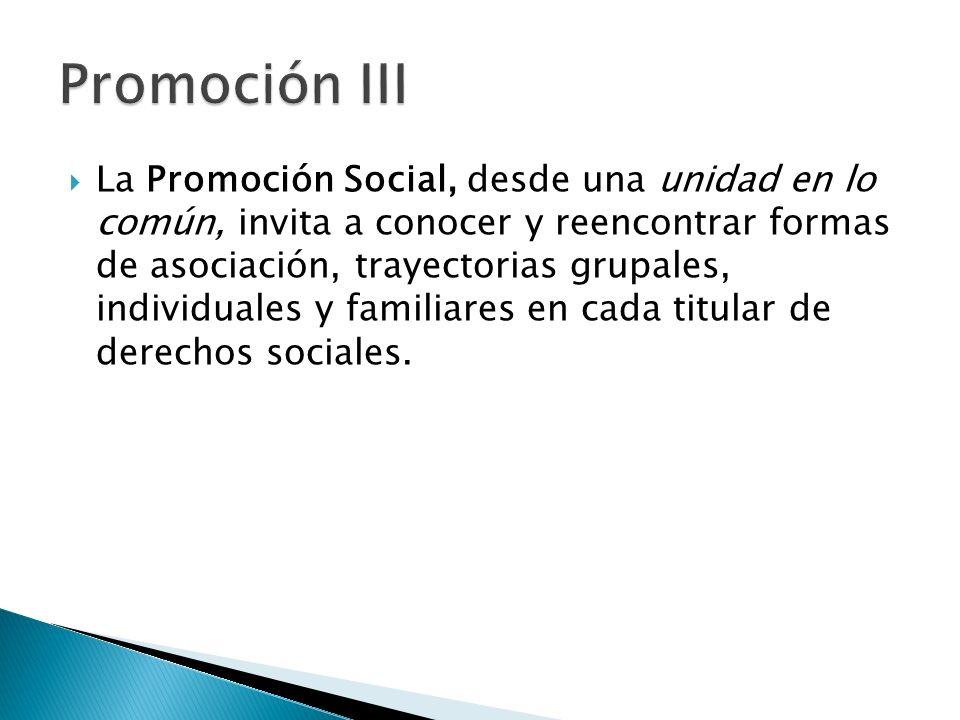 Promoción III