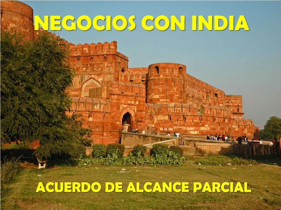 ACUERDO DE ALCANCE PARCIAL