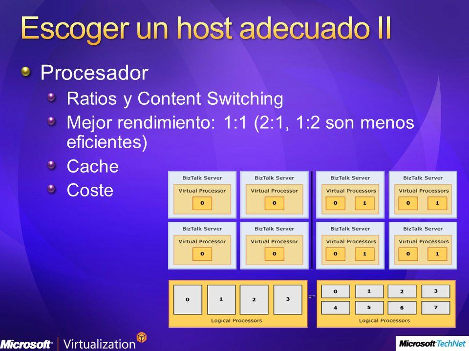 Escoger un host adecuado II